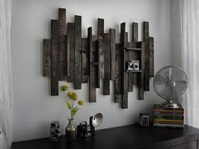 Home Interiors Wall Decor Diy Wooden Pallet Wall Decor Recycled Things