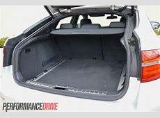 2012 BMW X6 M50d cargo space