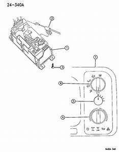 1997 Dodge Ram 2500 Cable  Temperature Control  Cable