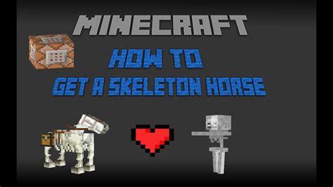 skeleton minecraft horse easy tricks tips