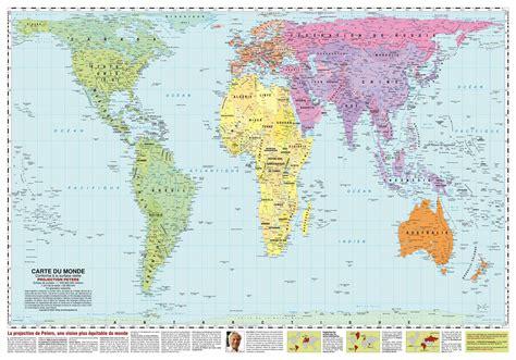 La Vrai Carte Du Monde by La Vrai Carte Du Monde Peters Popkensburg