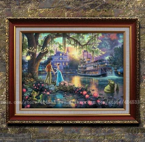 Home Interiors Kinkade Prints by Kinkade Prints Painting The Princess And