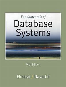 Fundamentals Of Database System 5th Edition  Software Free