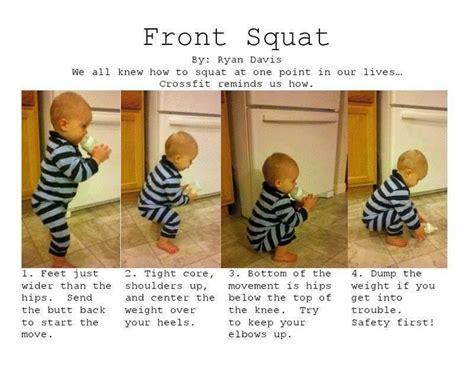 proper front squat body beautiful pinterest