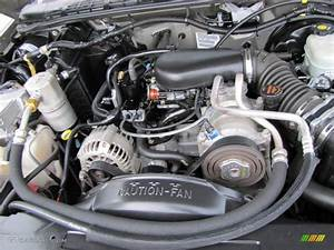 2003 Gmc Sonoma Sls Extended Cab 4 3 Liter Ohv 12v Vortec V6 Engine Photo  54242807