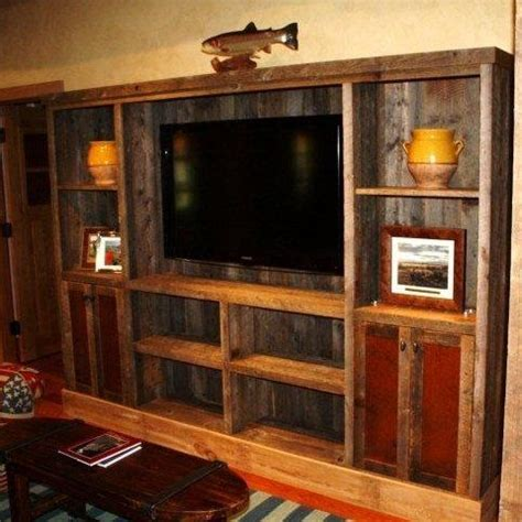 pallet tv stands entertainment centers images