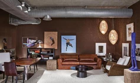 sala sofa marrom e parede cinza decora 231 227 o e projetos decora 199 195 o de salas sof 193 marrom