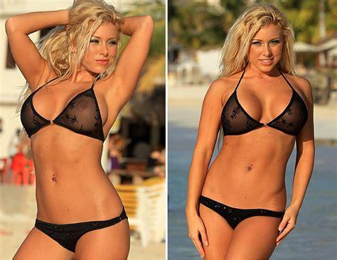 halter top swimsuits sheer bikinis swimwear the