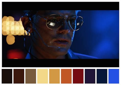 color palettes  famous movies show  colors set