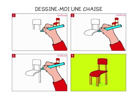 dessin d une chaise apprendre à dessiner une chaise en 3 é