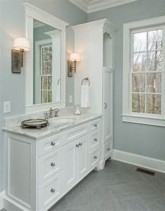 Beautiful, Master, Bathroom, Complete, With, His, And, Hers