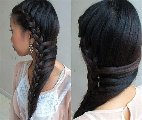 black hair braid hairstyles    ethereal princess