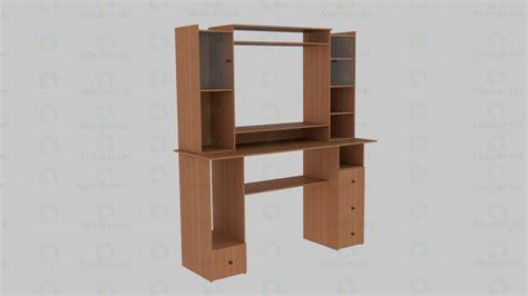modele bureau modèle 3d bureau d ordinateur le style minimalisme id 12146