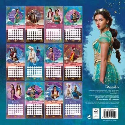 disney aladdin calendar danilo