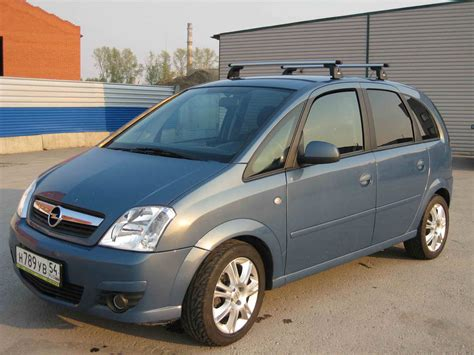 2006 Opel Meriva Pictures 1600cc Gasoline Ff Manual