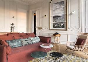 appartement haussmannien comment decorer un appartement With chambre bébé design avec livraison de fleurs à domicile paris