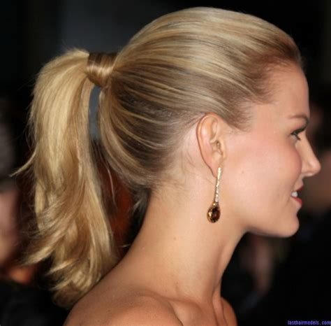 tied  hairstyles  long hair