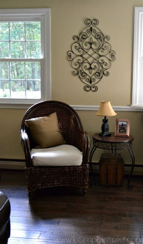 paint wicker furniture   brush chair makeover