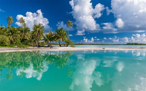 tropical island landscape french beach wallpapers 57 wallpapers wallpapers 4k