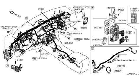 Gae Genuine Infiniti Harness Main