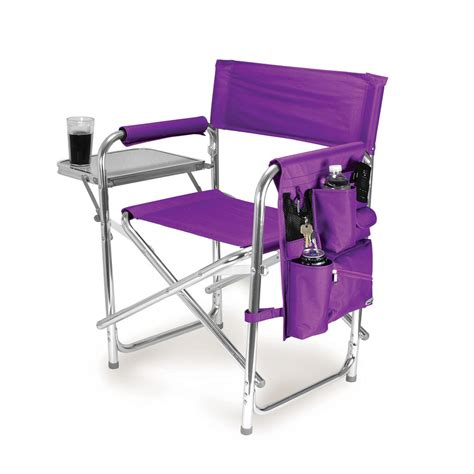 shop picnic time 1 indoor outdoor aluminum purple standard