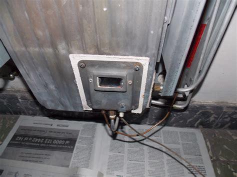 estufa tiro balanceado se apaga sistema de aire acondicionado