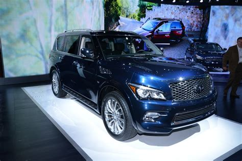 Infiniti Reveals Refreshed 2015 Qx80 Suv In New York