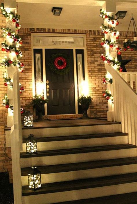 cool christmas porch decorating ideas   christmas