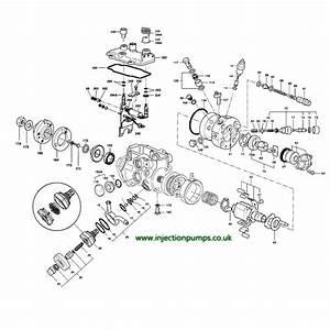 Lucas Dpc Hydraulic Head 9100-217j Genuine Delphi