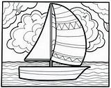 Coloring Pages Doodle Summertime Sum Sailboat Educational Let Insights Printable Summer Toy Educationalinsights Happy Printables Shout Send Comment Any Leave sketch template