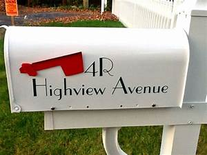 mailbox lettering faq With adhesive letters for mailboxes