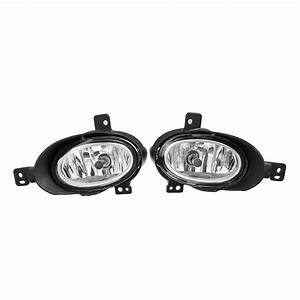 Car Front Bumper Fog Lights Driving Lamps With Wiring