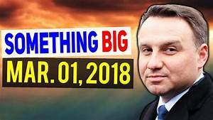 Something BIG Is Happening on MARCH 01, 2018 !!! - YouTube