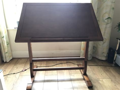 Studio Designs Vintage Drafting Table 36 Rustic Oak For