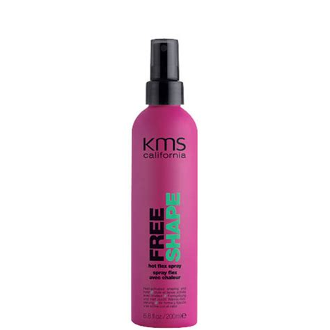 free hair styling products kms california freeshape flex spray 200ml hq hair 2994