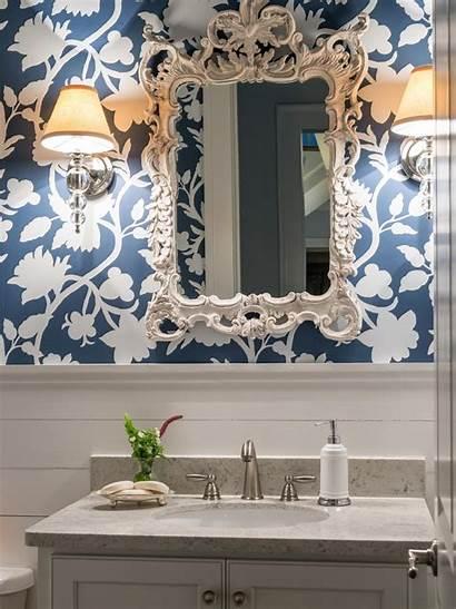 Bathroom Navy Hgtv Shiplap Powder Elegant Bathrooms