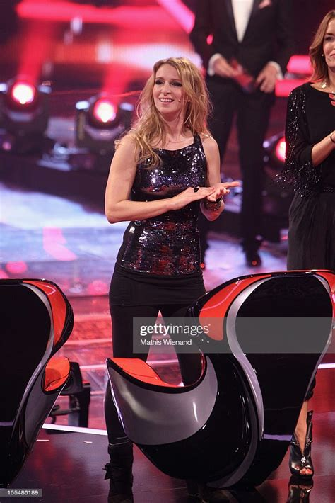 Sandra Nasic attends the 'X-Factor' First Live Show on ...