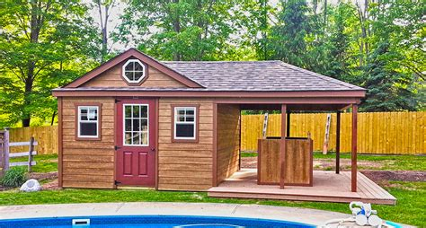 Shed With Porch by Storage Sheds Wooden Storage Sheds For Sale Horizon