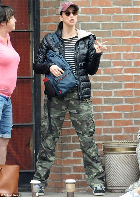 sarah silverman lights  cigarette   york day