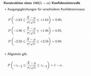 Konfidenzintervall Berechnen : stochastik wie berechnet man konfidenzintervalle mathelounge ~ Themetempest.com Abrechnung