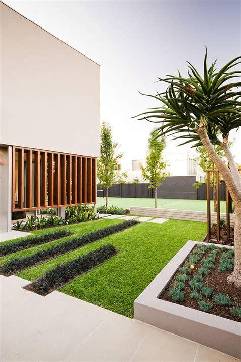 modern minimalist garden minimalist garden integrating the best outdoor activities on garrell street australia futura