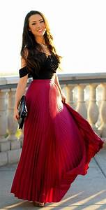 Airy u0026 Comfortable Maxi Skirt Girl Outfits for Summer  Trends For Girls u0026 Womens