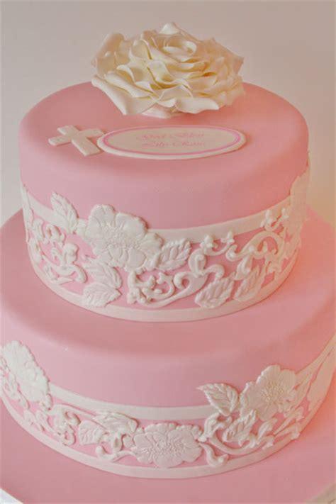 christening  baptism cakes nj lace custom cakes