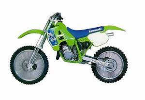 Kawasaki Kx125    Kx250 Service Manual Repair 1988