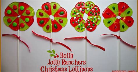 Holly Jolly Ranchers Christmas Lollipops