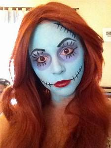 Sally Doll Makeup | Halloween: Nightmare Before Christmas ...