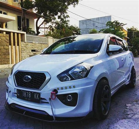 Modifikasi Datsun Go by Modifikasi Datsun Go White Project Om Kuprit Dgci