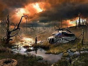 Sci Fi Lighting Life After The Apocalypse Russian Artist Vladimir