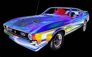 1972 Mustang Mach 1 Photograph by Allan Price