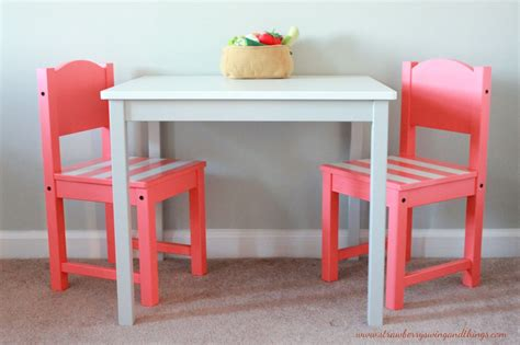 table chambre strawberry swing and other things crafty children